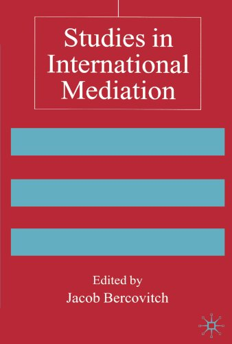 Studies in International Mediation: Essays in Honor of Jeffrey Z. Rubin (Advances in Foreign Policy Analysis)