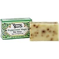 Vermont Soap Organics - Peppermint Magic 3.5 Oz Bar Soap by Vermont Soap