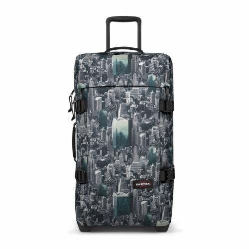Eastpak Tranverz M Valise - 67 cm - 80 L - Escaping Pines (Multicolore)