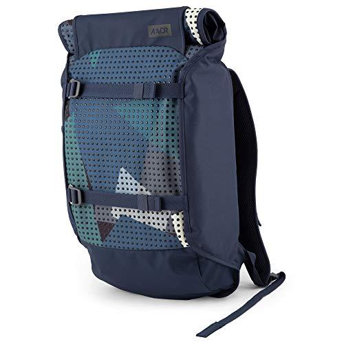AEVOR Trip Pack - Alltags Rucksack, erweiterbar 26 bis 33 Liter, ergonomisch, wasserabweisend, Camo Drop