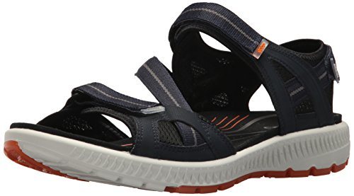 ECCO Terra, Sandali da Arrampicata Uomo, ((True Navy/Orange), 41 EU