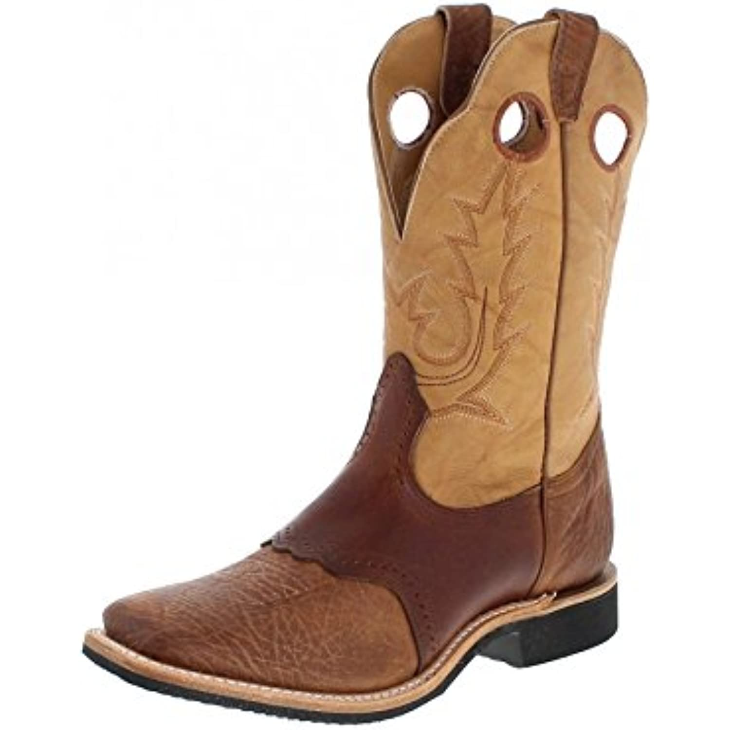 Bottes américaines - Bottes Cowboy BO-5263-EEE (Pied (Pied (Pied Fort) - Homme - Cuir - Marron - B01GIQ68I2 - 33e4ae