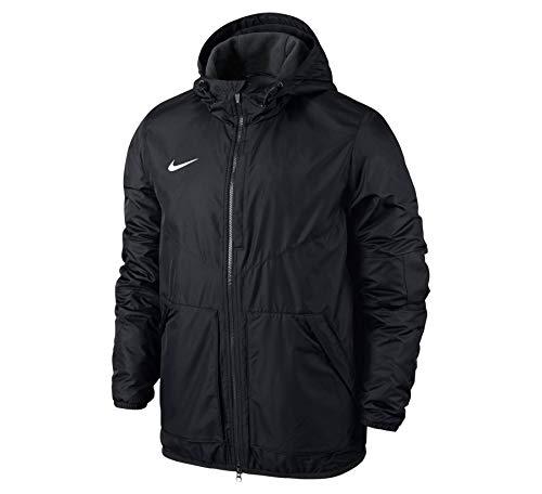 Nike Kinder Jacke Team Fall Jacket, Dark Obsidian/White, S - Blaue Schwarze Und Nike-jacke