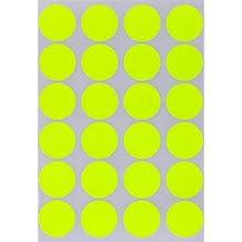 in verschiedenen Farben Gr/ö/ße 2,5 cm Durchmesser Etiketten 120 Vorteilspack von Royal Green Aufkleber Metallic Gold 25 mm runde Punkt Sticker