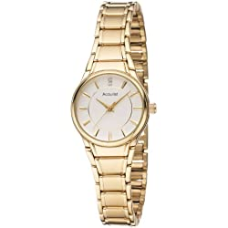 Accurist Ladies Gold Tone Bracelet Watch-LB1864W