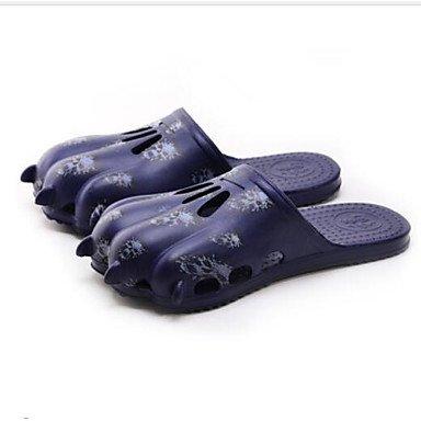 Slippers & amp da uomo;Sandali Comfort Tulle Primavera Casual Blu Marrone Nero piatte sandali US10.5 / EU43 / UK9.5 / CN45