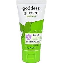 Goddess Garden Organics Facial Sunscreen Tube, 1 Fluid Ounce -- 20 per case. by Goddess Garden