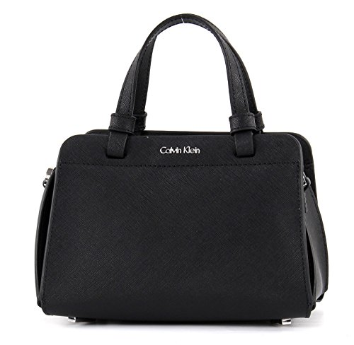 Calvin Klein Sofie Mini Bag Sac à main cuir 18 cm Black (Noir)
