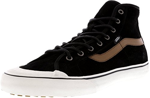 Vans Black Ball Hi SF, Sneakers Hautes Homme Noir