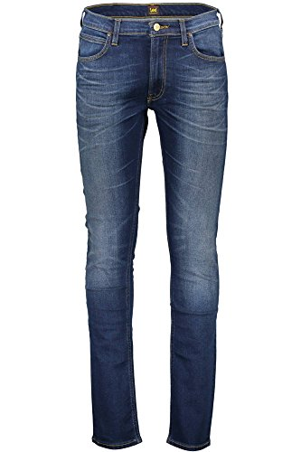 Lee Herren Tapered Fit Jeans Luke Blu