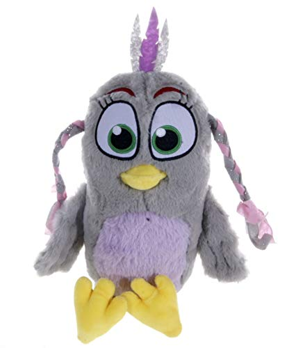 "Angry Bird New 12"" Movie 2 Silver Soft Plush Toy"