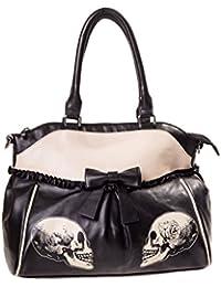 Gothic Alternative Halloween Waldtasche - Black / One Size