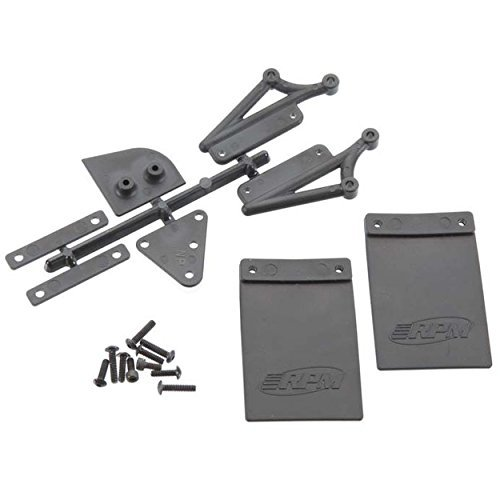Mud Flaps & Number Plate Kit (use with RPM73112) by (Flap Mud Kit)