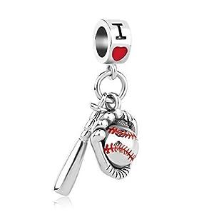 Sug Jasmin I Love Baseball-Baseball-Baseball und Handschuhe, für europäische...