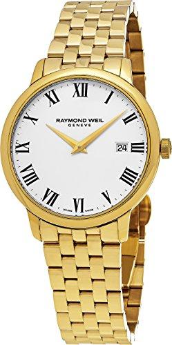 Raymond Weil uomo 'toccata' Swiss orologio al quarzo in acciaio INOX e...