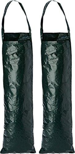 Silverline 264904 - Bolsa de cultivo colgante, 2 pzas (700 x 220...