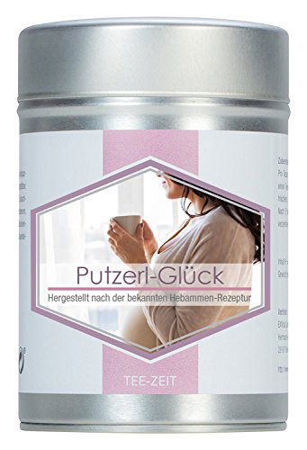 EXVital Putzerl Glück 100g Kräuterteemischung nach der bekannten Hebammen-Rezeptur, deutsche Premiumqualität in Aromaschutzdose