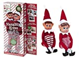 Set di 2-30,48 cm novità Naughty Girl And Boy Elves Behavin' Badly
