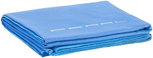 PEARL Microfasertuch Strand: Schnelltrocknendes Mikrofaser-Badetuch, 180 x 90 cm, blau (Schnelltrocknendes Handtuch)