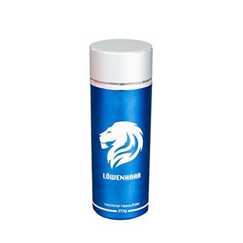 LOEWENHAAR® (27,5g, Medium Blond)   Streuhaar, Schütthaar, Hair Fibers   Haarverdichtung bei lichtem Haar und Haarausfall   Volles Haar in Sekunden