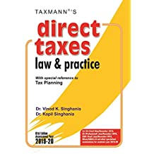 Direct Taxes Law & Practice -With special reference to Tax Planning (61st Edition A.Y. 2019-20)