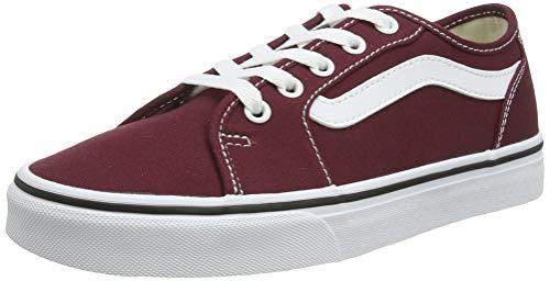 Vans Filmore Decon, Zapatillas para Mujer, Rojo Port Royale/True White Mc0, 39 EU
