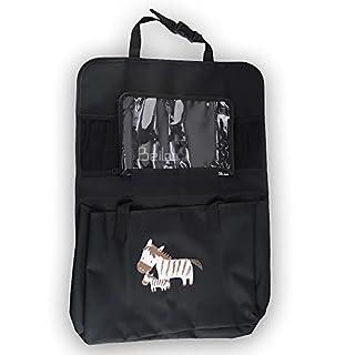 BeiLan Auto-Rücksitz-Organisatoren mit wasserdichtem iPad Tasche Mehrzweckgebrauch-Spielraum-Fracht-Speicher-hängende Tasche