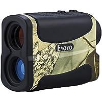 Eyoyo 5-700 Yard 6x Multifunction Golf Hunting Range Finder Distance Meter Speed Measurer with Ranging, Scan, Flagpole Lock, Fog and Speed function
