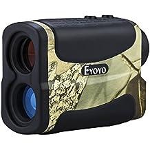 Eyoyo - Monocolo da golf, per distanze da 4,5 a 640,1 m, impermeabile, zoom 6x, multifunzione (4,5 a 640,1 m)