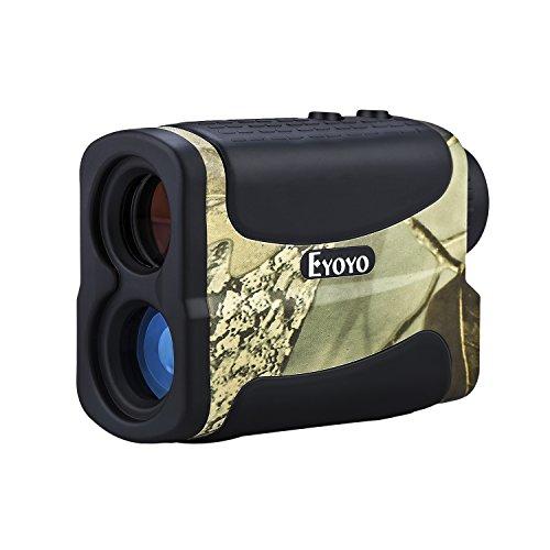 Eyoyo 5-700 Yard Wasserdichte 6x Multifunktions Golf Jagd Range-Finder Entfernungsmesser Speed Measurer mit Ranging, Flagpole Lock, Nebel und Geschwindigkeit