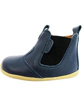 Bobux Jodphur - Zapatos primeros pasos de piel para niño Azul azul