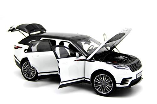 LCD Models LCD18003WH - Land Rover Range Rover Velar 2018 White - maßstab 1/18 - Modell Auto Lcd-land Rover