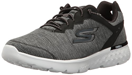 Skechers Go Run 400-Swiftly, Scarpe Running Donna Nero (Black White)