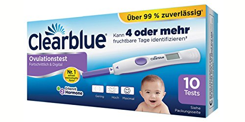 Clearblue Digital Ovulationstest, 10 St.