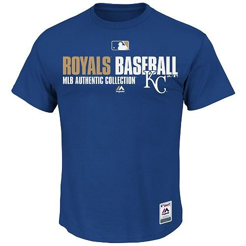 New MLB Authentic Collection Major League Baseball lizenziert Team Favorite Tee (alle 30Teams, 5Erwachsene Größen), Herren Damen, MLB, Erwachsene Small Kansas City Royals-uniformen