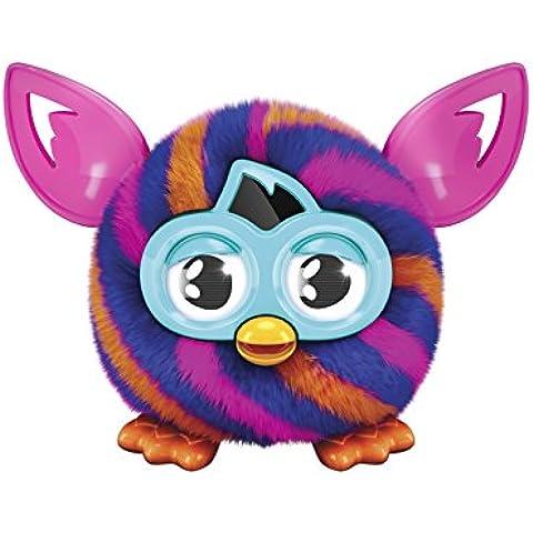 Furby - A78914000 - Interactive felpa - Furblings Diagonales - Naranja / Azul / Rosa