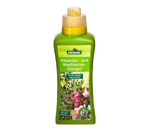 Dehner Oleander- und Mediterrandünger, 500 ml, für ca. 50 l