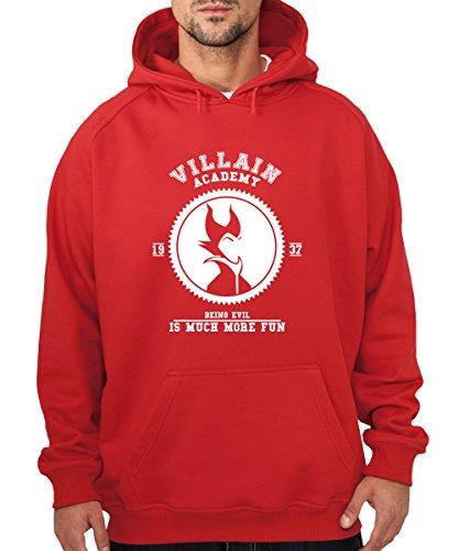 -- Villain Academy -- Boys Kapuzenpullover Rot