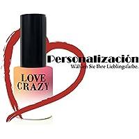 LOVECRAZY - Kit de Esmaltes de Uñas en Gel Semipermanente, 6 Colores de Esmaltes y Top Coat Base Coat