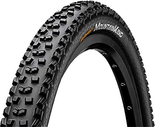 Continental Unisex- Erwachsene Mountain King ShieldWall Fahrradreifen, schwarz, 27.5 X 2.30