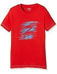Ziener Bike infantil de manga larga ciril, primavera/verano, infantil, color Rojo - rojo, tamaño 15 años (164 cm)