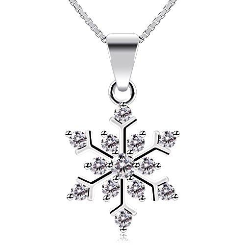 BCatcher-Kette-Damen-mit-Schneeflocke-925-Sterling-Silber-Halskette-Valentinstag-Geschenke