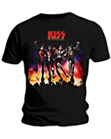 Official T Shirt KISS Rock n Roll Gene Simmons Band ~ Destroyer All Sizes