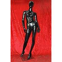 HeuSa Tech Window mannequin Female Shining Black