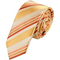 EAE1A34 disegno fantastico multicolore in seta Mens Skinny Tie Giorno Lavorativo Con Epoint