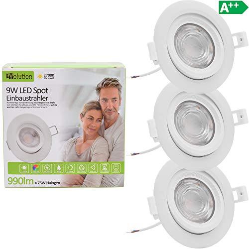 LED-Einbauleuchten 6W 230V