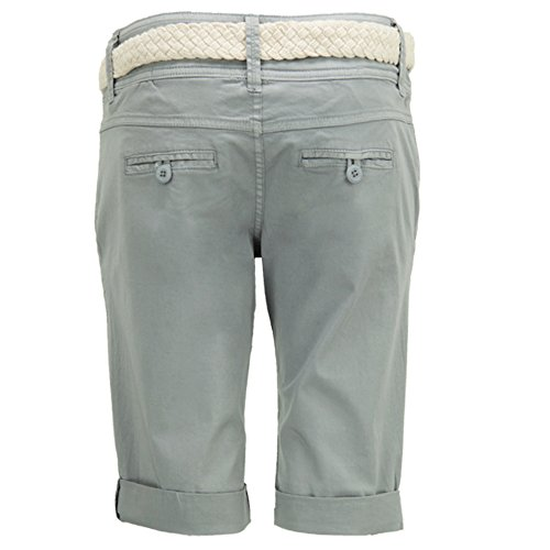 Fresh Made - Short - Uni - Femme gris clair