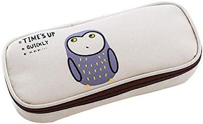 ly enfants Dessin animé Animal Trousse Box sur toile Pouch papeterie école Supply – Geshiglobal Owl   Une Grande Variété De Modèles