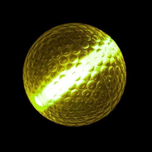 MODEOR Leuchtstab Golfball Gelb von