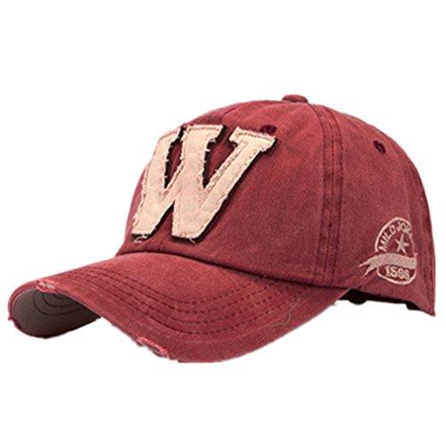 Imagen de ularma moda unisex letra w hockey béisbol  sombreros hip hop talla única, f